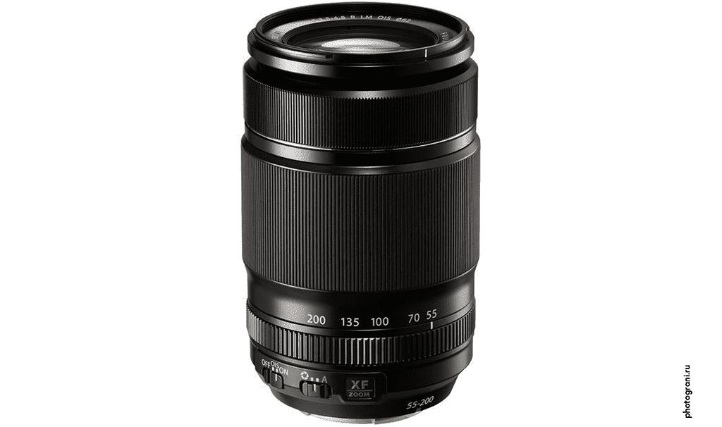 Маркировка объектива Fujifilm XF 55-200mm f/3.5-4.8 R LM OIS